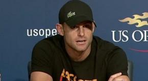 Andy Roddick says he's retiring