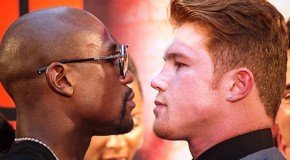 "NEXT UP ""The One – Mayweather vs Canelo"""