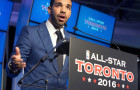 Drake partners with the Raptors