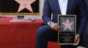TYLER PERRY GETS STAR ON HOLLYWOOD WALK OF FAME